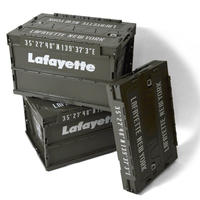 LAFAYETTE   LOGO MILITARY STORAGE BOX  MILITARY GREEN