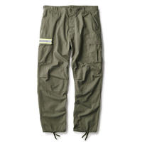 INTERBREED NIGHT WATCHMAN CARGO TROUSERS OLIVE