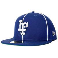 LAFAYETTE XNEWERA PIPING LF LOGO FITTED CAP-BLUE