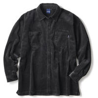 INTERBREED WIDE RANGE COUDUROY SHIRT-BLACK