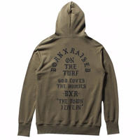 BORNXRAISED THE TOWN HOODY   GREEN
