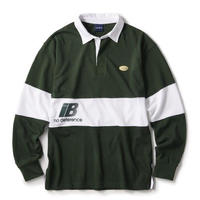 INTERBREED REBELLION RUGBY SHIRT-GREEN