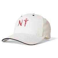 SAINTS&SINNERS NYLOGO SANDWICH VISOR CAP-WHITE