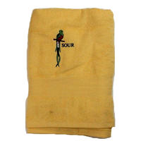 SOUR SOLUTION QUETZAL TOWEL  YELLOW