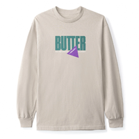 BUTTER GOODS GEAR L/S TEE-SAND