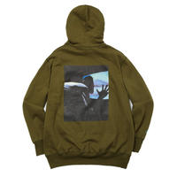 WHIMSY VILLAIN MOOD PULLOVER-OLIVE