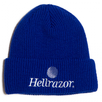 HELLRAZOR TRADEMARK LOGO WATCH CAP ROYAL BLUE
