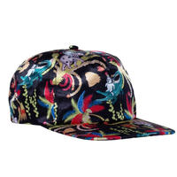 RIPNDIP LA MARCH 5PANEL SNAPBACK-BLACK