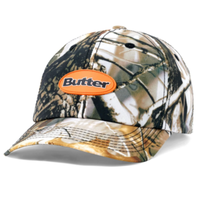 BUTTER GOODS FIELD 6PANEL CAP-TREE CAMO