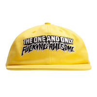 FUCKING AWESOME ONE&ONLY HAT  YELLOW