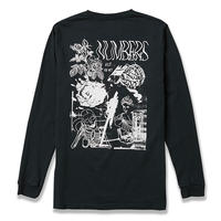 NUMBERS EDITION COLLAGE  L/S TEE  BLACK