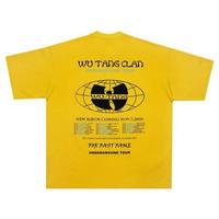 DON CARE WU-TANG CLAN TEE-YELLOW