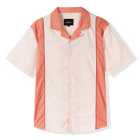 BUTTER GOODS CALDWELL SHIRT-CREAM / PEACH