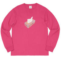 WHIMSY PAPER L/S TEE-SANGRIA