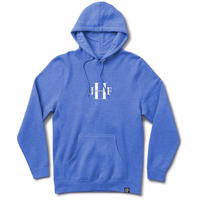 JHF STONED WASH PULL OVER     WASHED BLUE