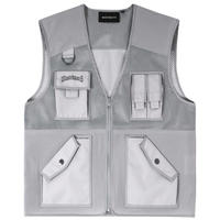 WASTED PARIS TACTICAL POCKETVEST-S,GREY