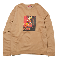 HELLRAZOR EX CREW SWEAT-SAND