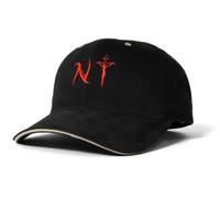 SAINTS&SINNERS NYLOGO SANDWICH VISOR CAP-BLACK