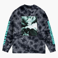 WASTED PARIS NEVERMIND L/S TEE-MARBLE DYE BLACK