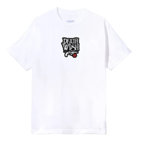 DEATHWISH DEATH AND DYING S/S TEE-WHITE
