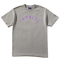 CARROTS COLLEGIATE CARROTS WORDMARK TEE - H, GREY