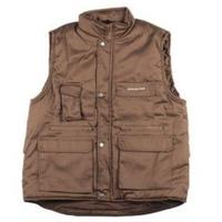 SOUR SOLUTION    SOUR SOLUTION CITY SAFARI VEST-CHOCOLATE