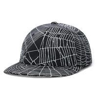 BUTTER GOODS WEB 6PANEL CAP-BLACK