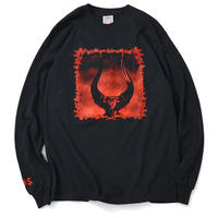 SAINTS&SINNERS FRIOUS ANGER L/S TEE-BLACK