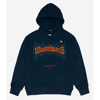 WASTED PARIS FIRE BRIDGE HOODIE-NAVY