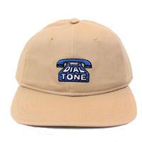 DIAL TONE DIAL STRAPBACK CAP KHAKI