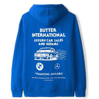 BUTTER GOODS M3 PULLOVER, ROYAL