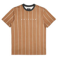 BRIXTON HILT EMBROIDERED S/S TEE-HIDE