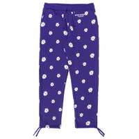 CARROTS XMARKMCNAIRY ALL OVER DAISY WORDMARK SWEATPANTS - PURPLE
