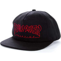 THRASHER CHINA BANKS HAT-BLACK