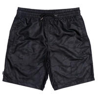 RIPNDIP BLACK OUT NYLON SHORTS-BLACK