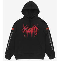 WASTED PARIS THRONE HOODIE-BLACK