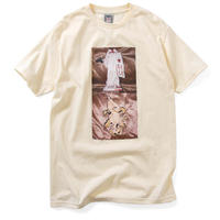 SAINTS&SINNERS JESUS&ANGEL TEE-CREAM