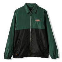 BUTTER GOODS MILE JACKET- FOREST / BLACK