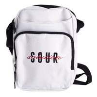 SOUR SOLUTION OFF YOUR CHEST BAG-WHITE
