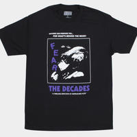 THE DECADES FEAR TEE  BLACK