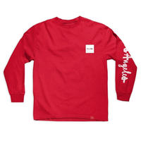CHOCOLATE LOS ANGELES C.T.W. L/S TEE  RED