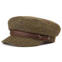 BRIXTON FIDDLER CAP MOSS/BROWN