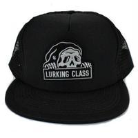 LURKING CLASS MESH SNAP BACK  BLACK