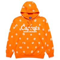 CARROTS XMARKMCNAIRY ALL OVER DAISY WORDMARK HOODIE - ORANGE