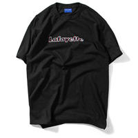 LAFAYETTE ANAGLYPH TEE   BLACK
