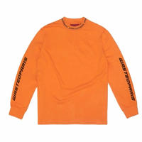 WASTED PARIS MANCHES  SQUA DRA    L/S TEE  OREANGE