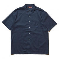HELLRAZOR H SOLID SHIRT-DEEP BLUE