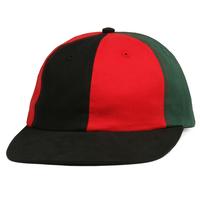 BUTTER GOODS  PATCHWORK 6 PANEL CAP      BLACK