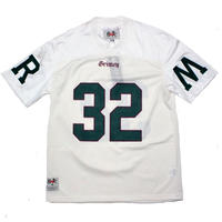 GRIMEY JADE LOTUS FOOTBALL JERSEY   WHITE