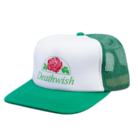DEATH WISH ROSE SNAPBACK-GREEN